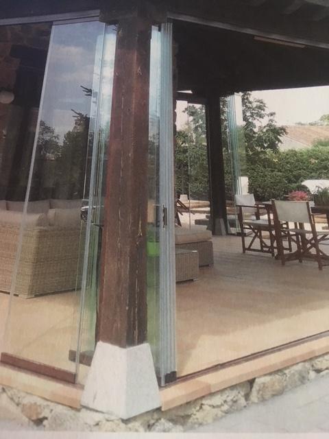 rideaux de verre