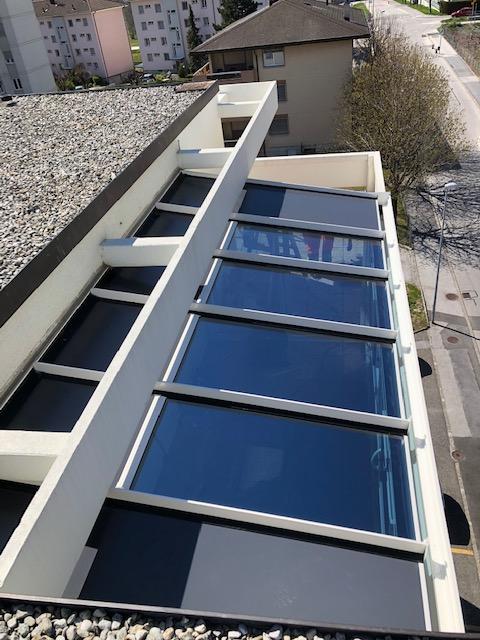 toiture vitrée