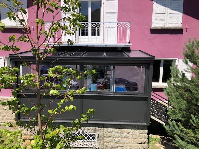 veranda hauteur