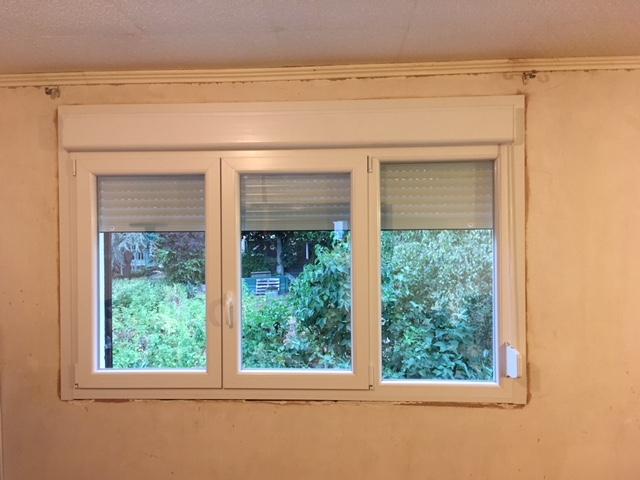 fenêtre pvc avec volets roulant intégré